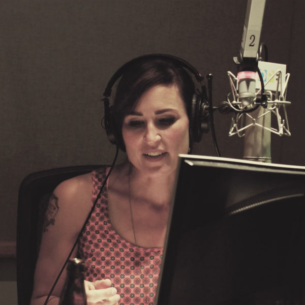 Katherine on mic