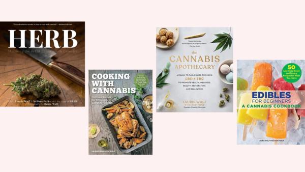 Cannabis cookbooks
